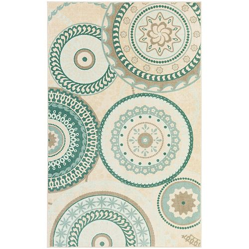 Mohawk® Home Forest Suzani Medallion Rug