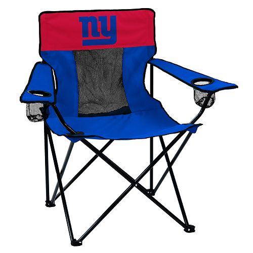 Adult Logo Brand New York Giants Elite Portable Folding Chair
