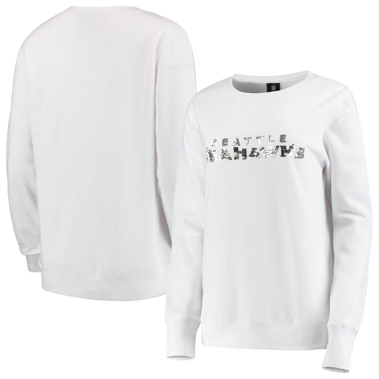 white seahawks sweatshirt