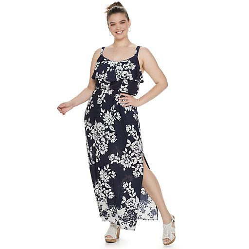 Womens Plus Maxi Wedding Guest Dresses Clothing Kohl S